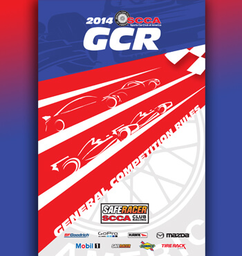 2014 SCCA General Competition Rules