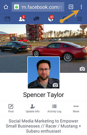 How to access your Facebook Pages Feed by Spencer Taylor