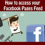 How to access your Facebook Pages Feed – Facebook Quick Tip