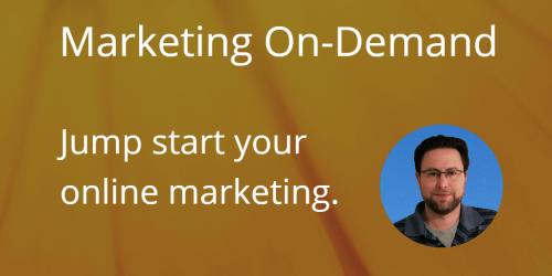 Marketing On-Demand jump start your online marketing