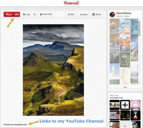 Pinterest Can Drive Traffic to YouTube - The Threshold
