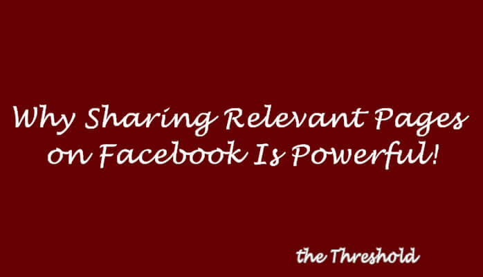 Sharing Other Facebook Pages Has Power
