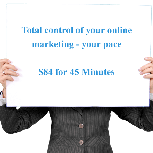 online marketing at your pace