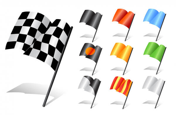 set-of-racing-flags